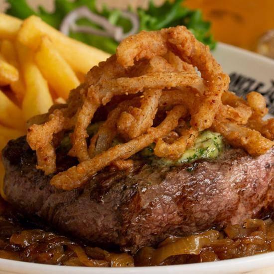 Onion Brew Steak
